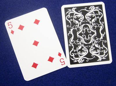 Anglo Poker Edition09 white/bl