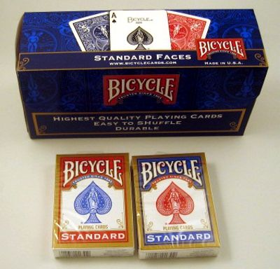 Bicycle Poker, box of 12