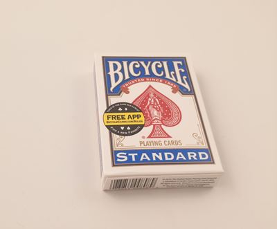 Bicycle Poker Tuck Box - blue