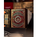 High Victorian Playing Cards - red